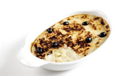 """Creamy cod bake """"Bacalhau com natas"""""""
