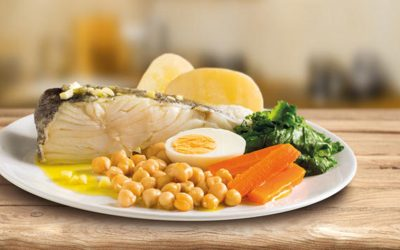 "Cod with ""everything""/Bacalhau com todos"