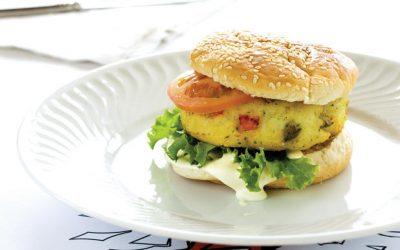 Cod burger/ Bacalhau burger