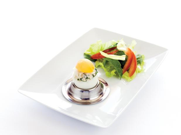 Ovos recheados com Bacalhau