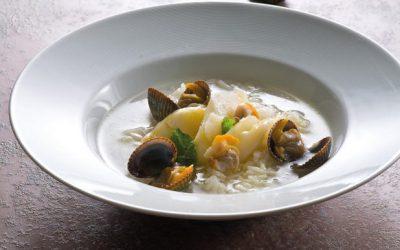Canja de bacalhau – Portuguese codfish soup