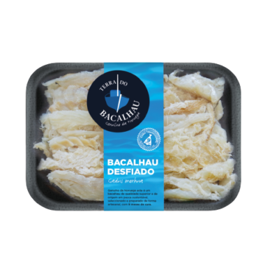 "Shredded codfish desfiado, 400 g ""Terra do Bacalhau"""