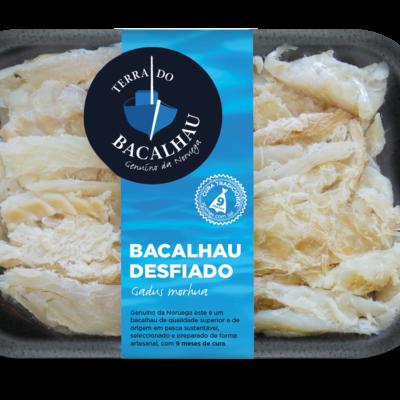 Cuvete Bacalhau desfiado de Terra do Bacalhau