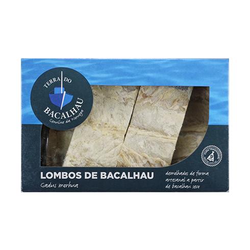 Lombos de bacalhau 2kg. Terra do Bacalhau